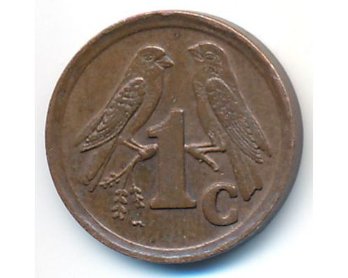 1 цент 1995 год ЮАР