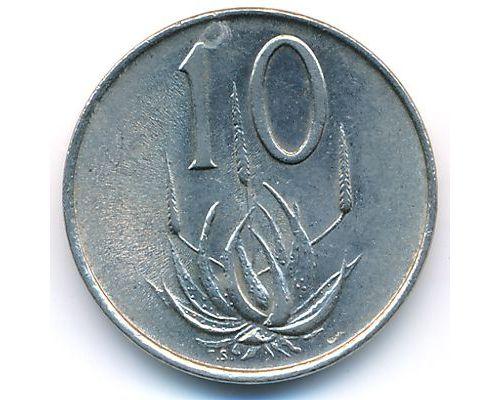 10 центов 1965 год ЮАР