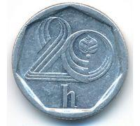 20 геллеров 1996 год Чехия