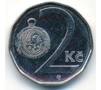 2 кроны 1998-2020 год Чехия