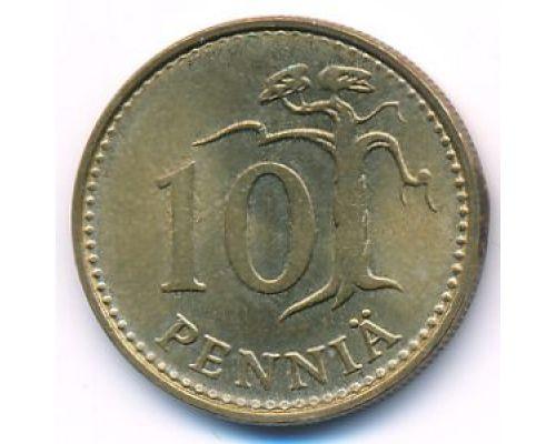10 пенни 1981 год Финляндия