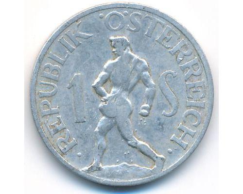 1 шиллинг 1947 год Австрия Сеятель