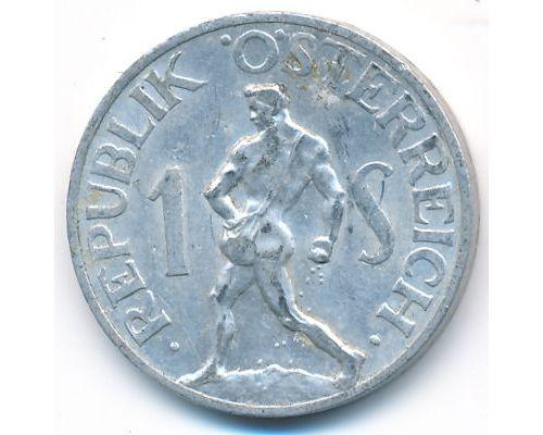 1 шиллинг 1952 год Австрия Сеятель