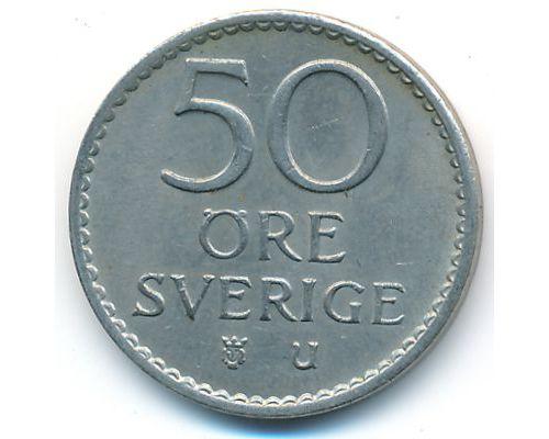 50 эре 1972 год Швеция