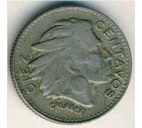 10 сентаво 1959 год Колумбия