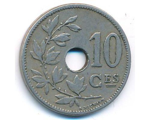 10 сентим 1904 год Бельгия BELGIQUE состояние VF