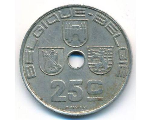 25 сентим 1938 год Бельгия BELGIQUE-BELGIE состояние VG