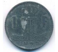 1 франк 1945 год Бельгия BELGIE BELGIQUE состояние VG