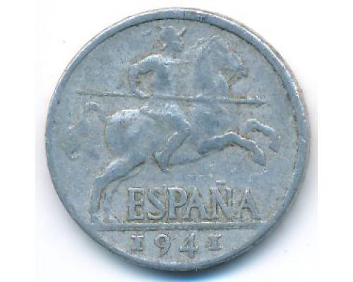 10 сентимо 1941 год Испания