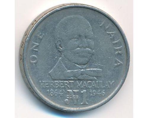 1 найра 1991 год Нигерия