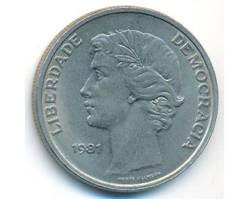 25 эскудо 1981 год Португалия Демократия