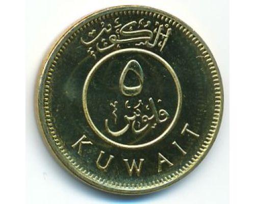 5 филсов 2013 год Кувейт