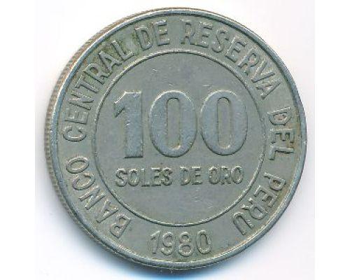 100 солей 1980 год Перу