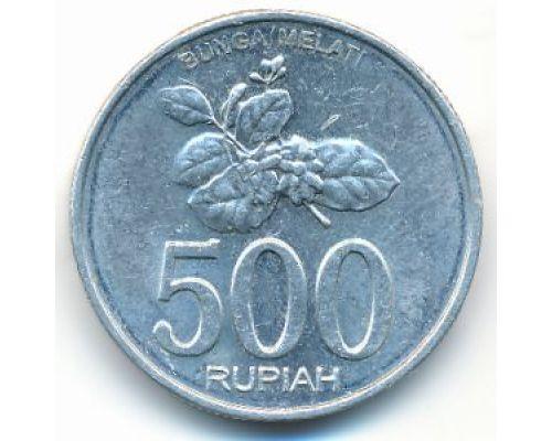 500 рупий 2003 год Индонезия Цветок жасмина