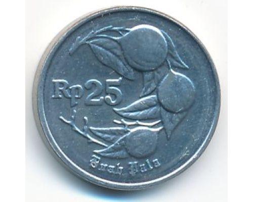 25 рупий 1992 год Индонезия Мускатный орех