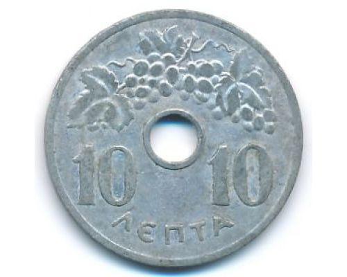 10 лепт 1954 год Греция состояние VG