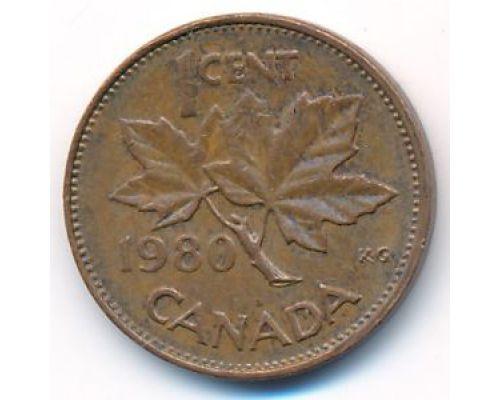 1 цент 1980 год Канада