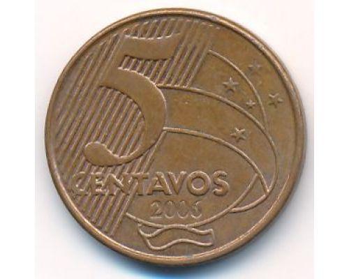 5 сентаво 2006 год Бразилия