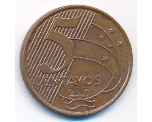 5 сентаво 2007 год Бразилия
