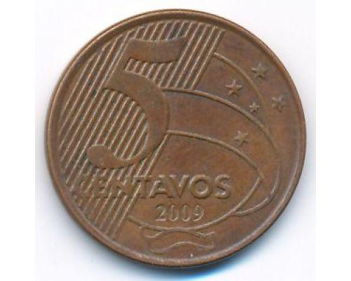 5 сентаво 2009 год Бразилия