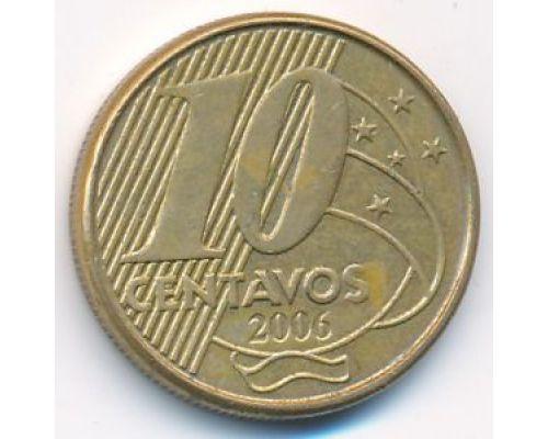 10 сентаво 2006 год Бразилия