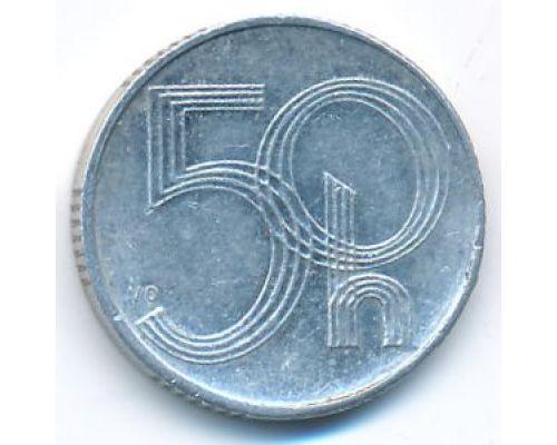 50 геллеров 1993 год Чехия