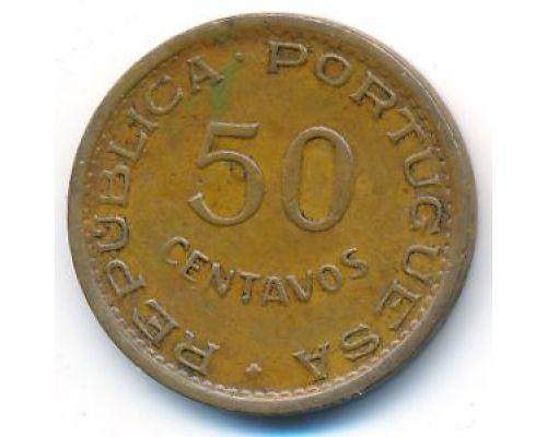 50 сентаво 1973 год Мозамбик