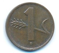 1 раппен 1949 год Швейцария