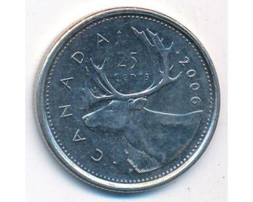 25 центов 2006 год Канада