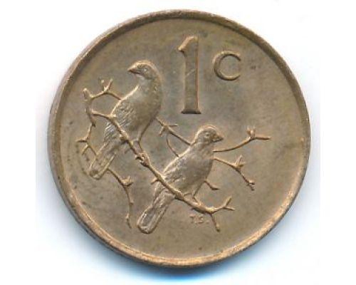 1 цент 1989 год ЮАР
