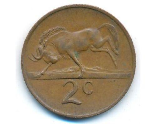 2 цента 1970 год ЮАР