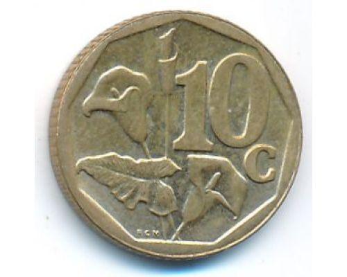 10 центов 2004 год ЮАР