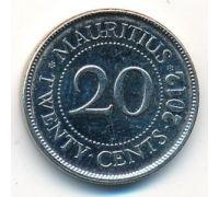 20 центов 2012 год Маврикий Сивусагур Рамгулам