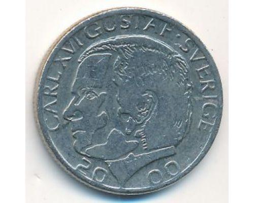 1 крона 2000 год Швеция