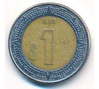 1 новый песо 1999 год Мексика