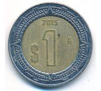 1 новый песо 2015 год Мексика