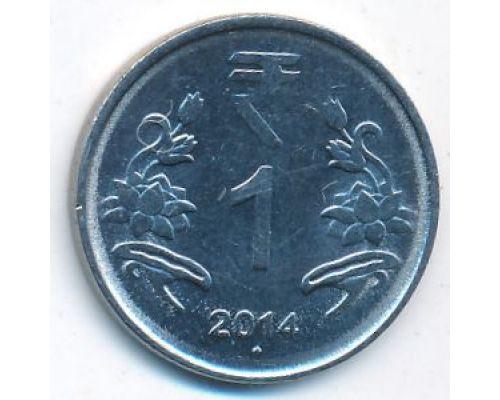 1 рупия 2014 год Индия