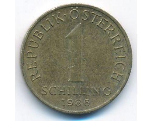1 шиллинг 1986 год Австрия