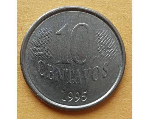 10 сентаво 1995 год Бразилия