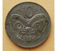 10 центов 1974 год Новая Зеландия