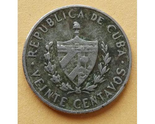 20 сентаво 1968 год Куба