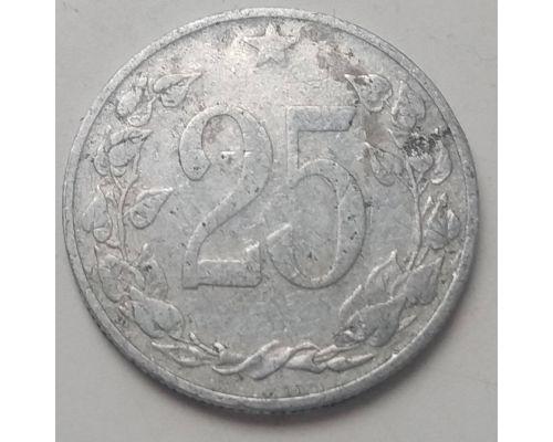25 гелеров 1953 год Чехословакия Состояние F