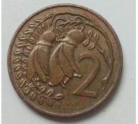 2 цента 1980 год Новая Зеландия