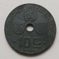 10 сентим 1943 год Бельгия BELGIQUE-BELGIE