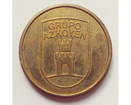 Жетон для мойки машин на Автомойке GRUPO AZKOYEN AUTOMATEN CAR WASH TOKEN