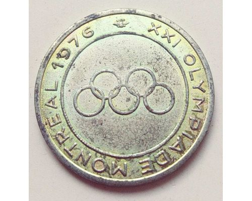 Жетон XXI Олимпиада в Монреале 1976 год OLYMPIADE MONTREAL