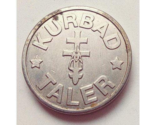 Жетон бонусный Kurbad-Taler, Galerie-Taler Германия
