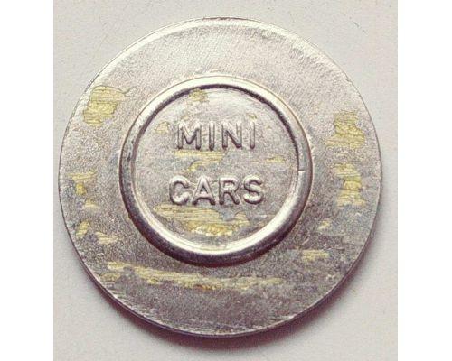 Жетон игровой Euro Games. Mini Cars