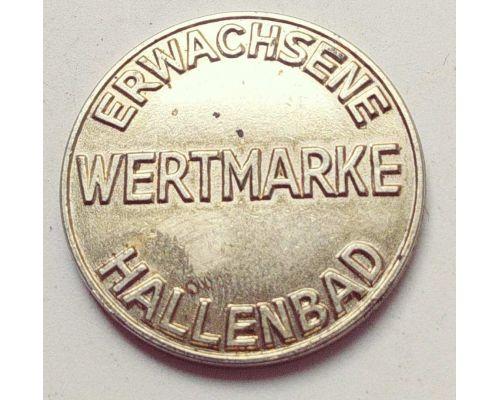 Жетон в бассейн Wertmarke Erwachsene Hallenbad Stadt Kempten Allgäu