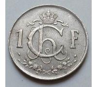 1 франк 1952 год Люксембург